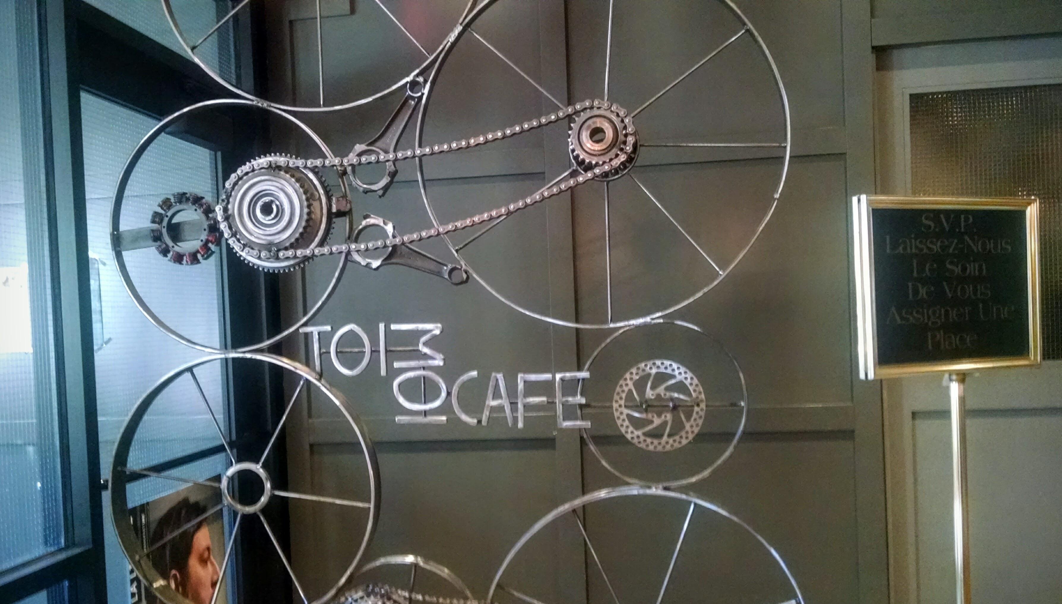 Toi Et Moi Cafe Sign