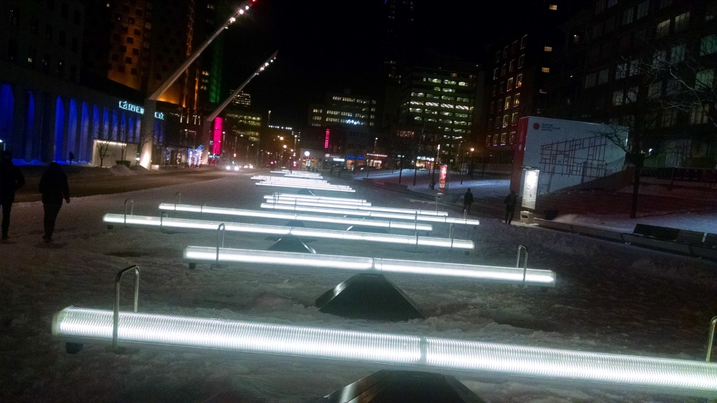 Interactive Seesaws in Montreal Quebec