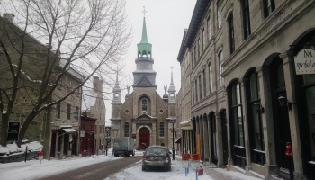 Church in Montreal Quebec Canada
