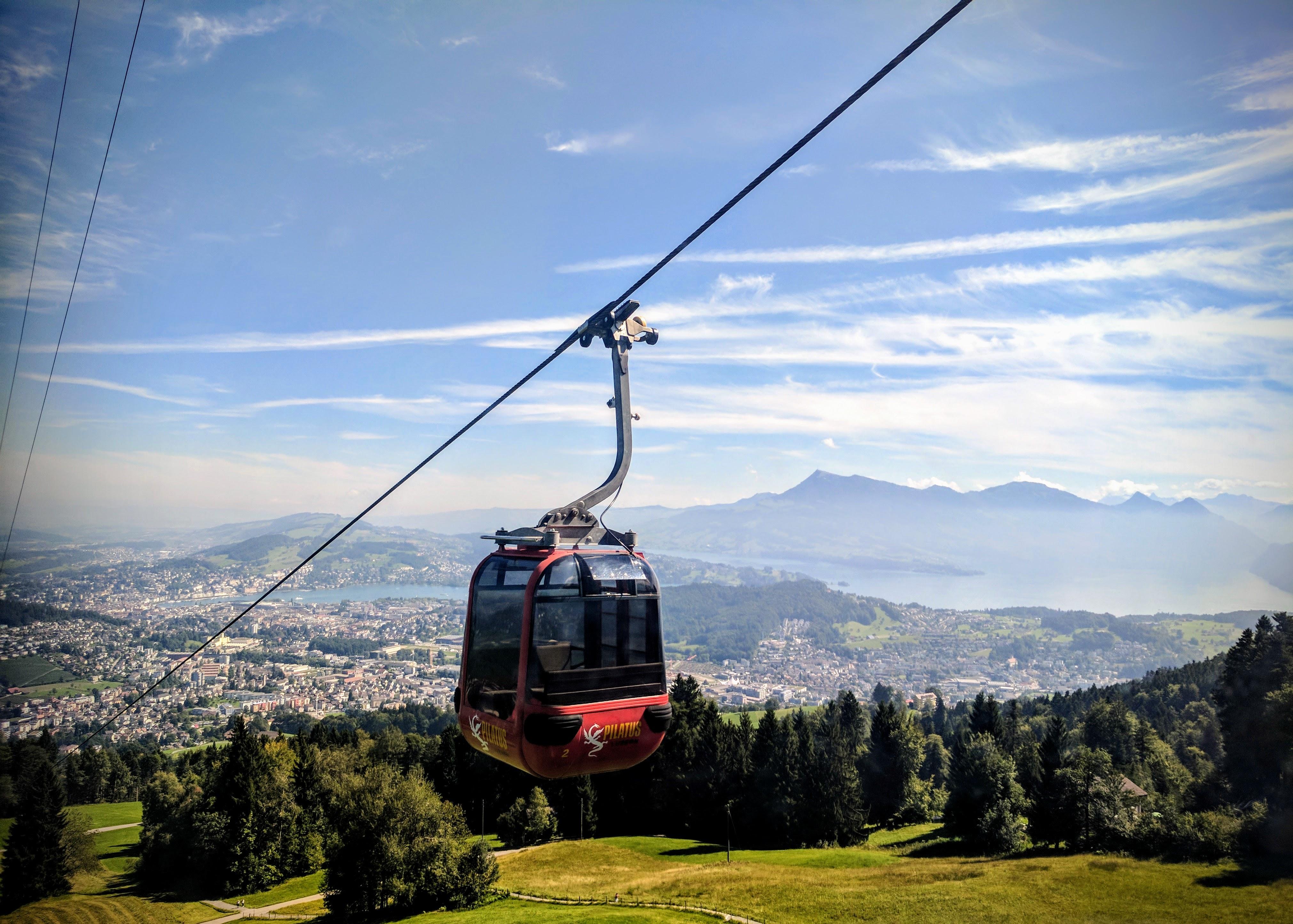 Gondola to Mt Pilatus