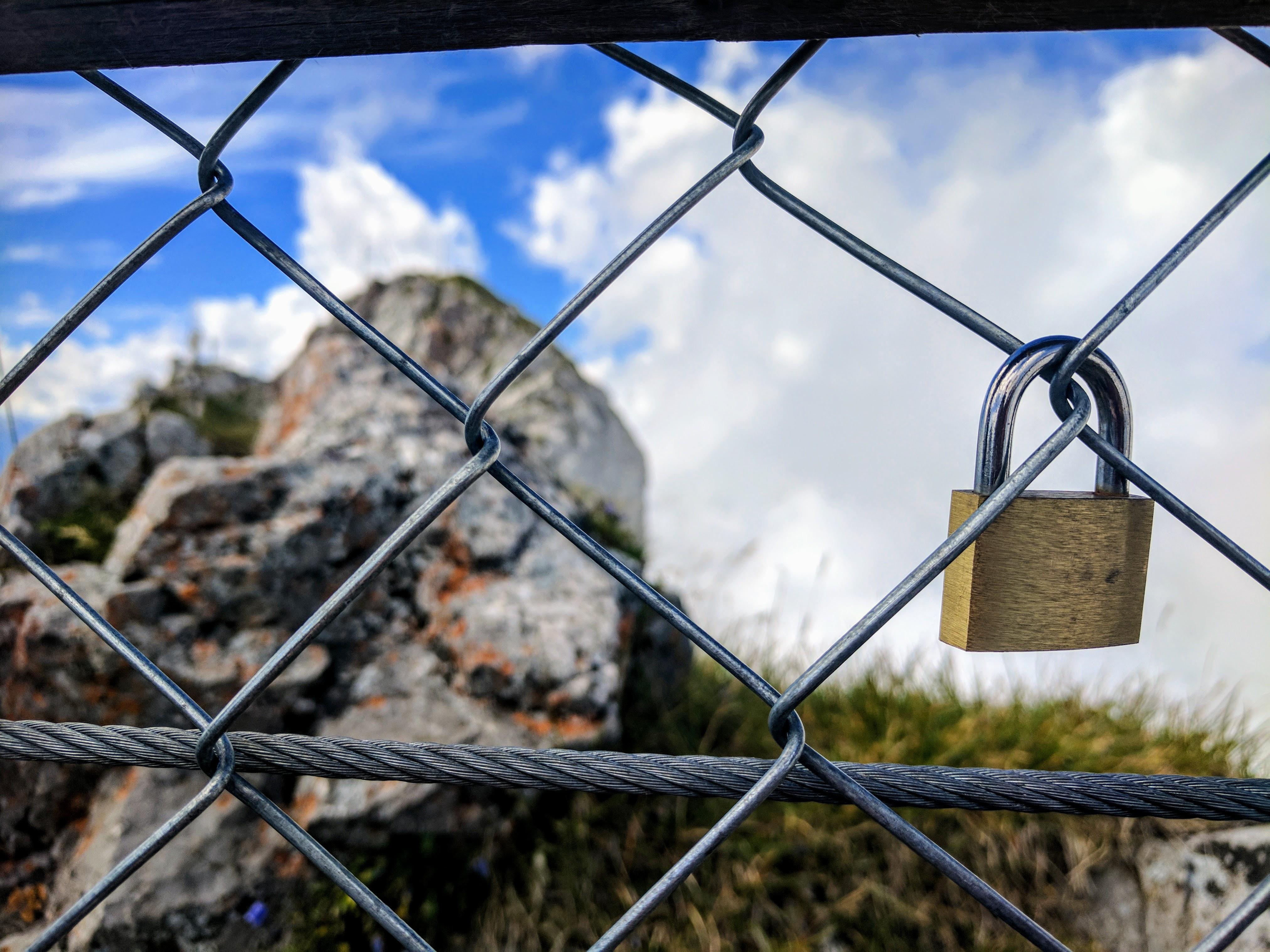 Lock at summit of Mt Pilatus