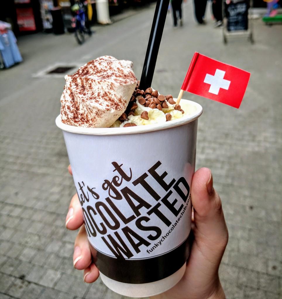 Interlaken Switzerland dessert restaurant