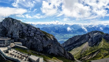 Mt Pilatus Switzerland summit