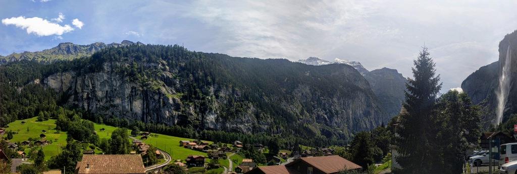 Swiss Alps Lauterbrunnen Switzerland