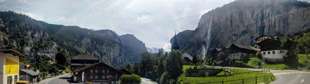 Lauterbrunnen panoramic